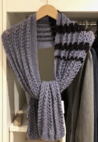 Schal-EsCay Strickdesign