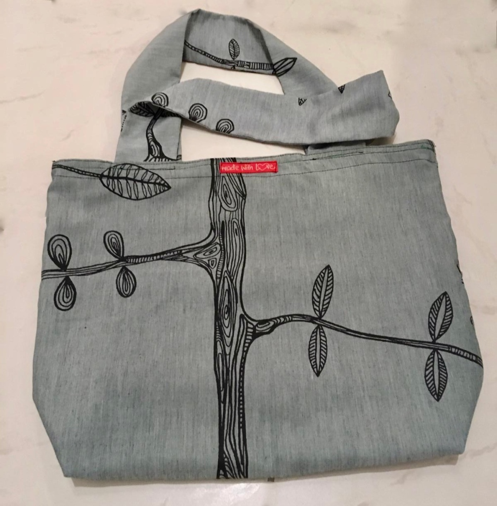 Handtasche-selbstgenäht